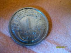 France: 1 Franc 1941 - H. 1 Franc