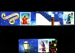 GREAT BRITAIN - 2007  CHRISTMAS   LITHO  SET  EX  SMILERS   MINT NH - 1952-.... (Elisabetta II)