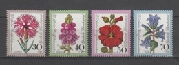 (S1563) WEST GERMANY (FEDERAL REPUBLIC), 1974 (Flowers). Complete Set. Mi ## 818-821. MNH**