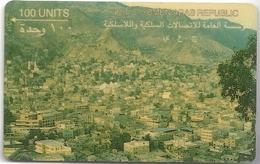 Yemen - View Of Ta'Izz - 1YEMB - 100U, 1992, Used - Yemen