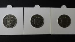 """Netherlands - 1972,77,78 - 1 Gulden - Mintmark """"cock"""" - KM 184a - VF+"""