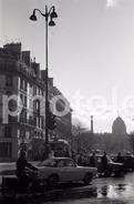 1963 RENAULT CARAVELLE SAINT DENIS PARIS FRANCE 35mm  AMATEUR NEGATIVE NOT PHOTO NEGATIVO NO FOTO - Other