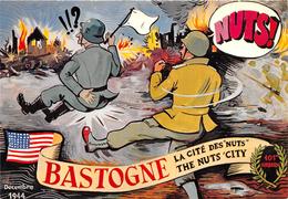 Bastogne Cité Des Nuts Dessin Allouin - Bastogne