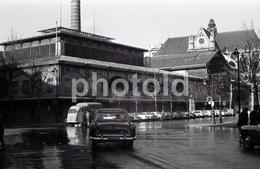 1963 SIMCA VEDETTE HALLES PARIS FRANCE 35mm  AMATEUR NEGATIVE NOT PHOTO NEGATIVO NO FOTO - Other