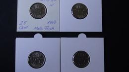 Netherlands - 1950,64,66,67 - 25 Cent - KM 183 - VF+