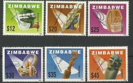 ZIMBABWE  2002  LOCAL CRAFTS SET  MNH - Zimbabwe (1980-...)