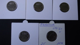 Netherlands - 1973,75-78 - 25 Cent - KM 183 - VF+
