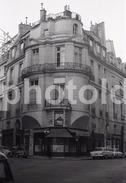 1963 RUE CROIX DES PETITS CHAMPS PARIS FRANCE 35mm  AMATEUR NEGATIVE NOT PHOTO NEGATIVO NO FOTO - Other