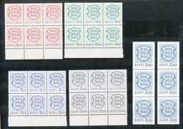 Estland   - Mi.Nr.  165 - 173  - Postfrisch   In 6- Block - Briefmarken