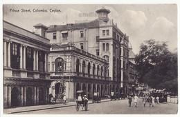 Ceylon Sri Lanka, Colombo Prince Street View - Rickshaws - C1910s Postcard -  CEYLAN - Sri Lanka (Ceylon)