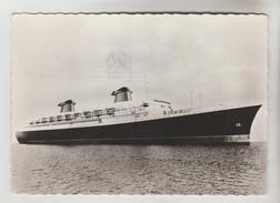 """CPSM TRANSPORT BATEAU PAQUEBOT - """"FRANCE"""" De La Compagnie Générale Transatlantique - Dampfer"""