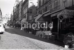 1963 RUE LEPIC PARIS FRANCE 35mm  AMATEUR NEGATIVE NOT PHOTO NEGATIVO NO FOTO - Other