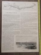 ENV 1900 CANAL BASSE LOIRE ECLUSE DE LA MARTINIERE ET CARNET ET DOCTEUR GUEPIN - Collections