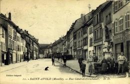 St-AVOLD / RUE GENERAL HIRSCHAUER / A 6 - Saint-Avold