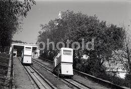 1963 FUNICULAR  MONTMARTRE PARIS FRANCE 35mm  AMATEUR NEGATIVE NOT PHOTO NEGATIVO NO FOTO - Other