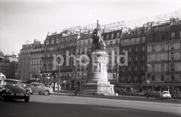 1963 CITROEN DS PLACE CLICHY  PARIS FRANCE 35mm  AMATEUR NEGATIVE NOT PHOTO NEGATIVO NO FOTO - Other