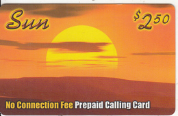 CANADA - Sun Prepaid Card $2.50, Used