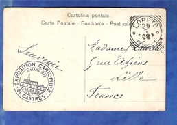 Cachet Lorfto 1908 - Affrancature Meccaniche Rosse (EMA)