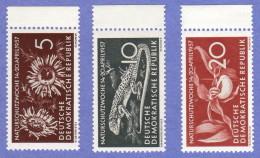 DDR SC #325-7 1957 Nature Conservation Week CV $2.50 - Unused Stamps