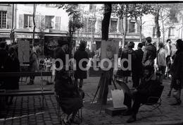 1963 MONTMARTRE PARIS FRANCE 35mm  AMATEUR NEGATIVE NOT PHOTO NEGATIVO NO FOTO - Other