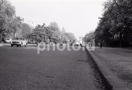 1963 AVENUE FOCH PARIS FRANCE 35mm  AMATEUR NEGATIVE NOT PHOTO NEGATIVO NO FOTO - Other