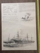 ENV 1900 L ABORDAGE DU FERRANDO PAR LE CECILLE RADE SALINS D HYERES - Collections