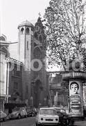 1963 MARCEL MARCEAU ADVERT PLACE ABBESSES PARIS FRANCE 35mm  AMATEUR NEGATIVE NOT PHOTO NEGATIVO NO FOTO SIMCA 1000 - Other