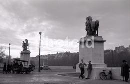 1963 VELOSOLEX VELO SEINE PARIS FRANCE 35mm  AMATEUR NEGATIVE NOT PHOTO NEGATIVO NO FOTO - Other
