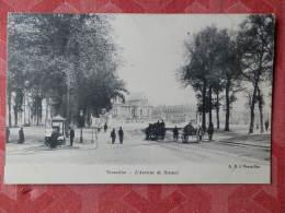 Dep 78 , Cpa  VERSAILLES , L'Avenue De Sceaux  (081) - Versailles