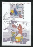 GERMANY Mi.Nr. Block 41 Tag Der Briefmarke - Stempel Postphilatelie Frankfurt -used - Blocks & Kleinbögen