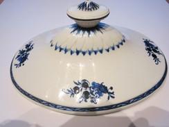 Porcelaine De Tournai - Décor à La Mouche - Couvercle De Soupière - Doornik (BEL)