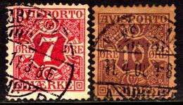 10686 Dinamarca Jornal 3/4 Numerais U - Port Dû (Taxe)