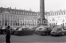 1963 PLACE VENDOME PARIS FRANCE 35mm  AMATEUR NEGATIVE NOT PHOTO NEGATIVO NO FOTO - Other