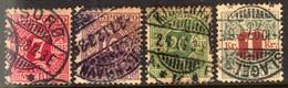 10699 Dinamarca Jornal 3/5 + 8 Numerais U - Port Dû (Taxe)