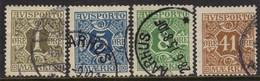 10701 Dinamarca Jornal 11/12 + 14 + 19 Numerais U - Postage Due