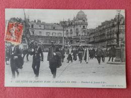 Dep 45 , Cpa ORLEANS , FETES De JEANNE D'ARC 1914 , 8 , Etendard De Jeanne D'Arc  (029) - Orleans
