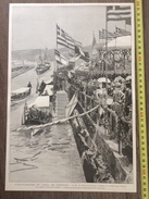 ENV 1900 INAUGURATION DU CANAL DE CORINTHE - Collections