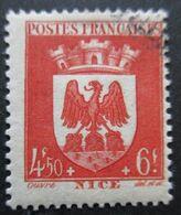 FRANCE Armoirie De Nice N°563 Oblitéré - 1941-66 Wapenschilden