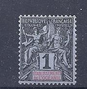 170027198  OCEANIA  FR..  YVERT    Nº  1  */MH - Oceanía (1892-1958)