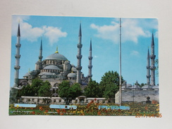 Postcard The Blue Mosque Istanbul Exterior My Ref B21223 - Turkey