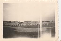 FOY ,Noville-lez-Bastogne , Cimetière Américain ,Guerre 1940-1945 ,Offensive Des Ardennes,photo 8,7 X 6,1 Cm - Bastogne