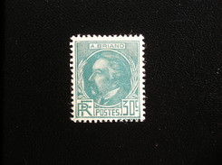 291   A. BRIAND   NEUF* - Unused Stamps