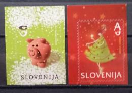 Slovenia, 2012, Mi: 979/80 (MNH) - New Year