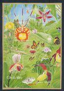 FRANKREICH  Mi.Nr. Block 44 Orchideen - Used - Oblitérés