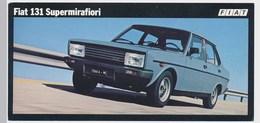 FIAT 131 SUPERMIRAFIORI   Old Photo Card - Cars