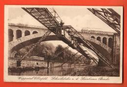 D1303 Wuppertal Elberfeld  Schwebebahn A. D. SOnnborner Brücke. Gelaufen In 1933 Nach Schweiz - Wuppertal