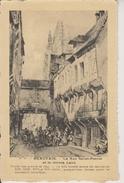 D60 - BEAUVAIS - LA RUE SAINT PIERRE ET LE GLORIA LAUS - D'APRES GRAVURE DE 1845 - Beauvais