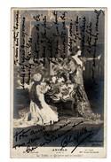 """FEMME ARTISTE . ANGELO (acte 2) . La Tisbé . """"  Qu'est-ce Que Ce Crucifix ? """" . SARAH BERNHARDT - Réf. N°1934 - - Femmes Célèbres"""