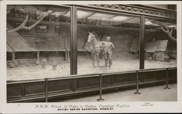 Wembley British Empire Exhibition H.R.H. Prince Of Wales In Butter Canadia Pavilion Photo Campbell Gray - Non Classés
