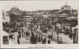 Wembley British Empire Exhibition Amusement Park Photo Campbell Gray - Angleterre